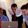 Obama internetin hızlanma gereklilikleri iPad'den gösterdi