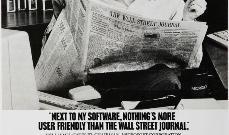 Bill Gates'in rol aldığı reklam