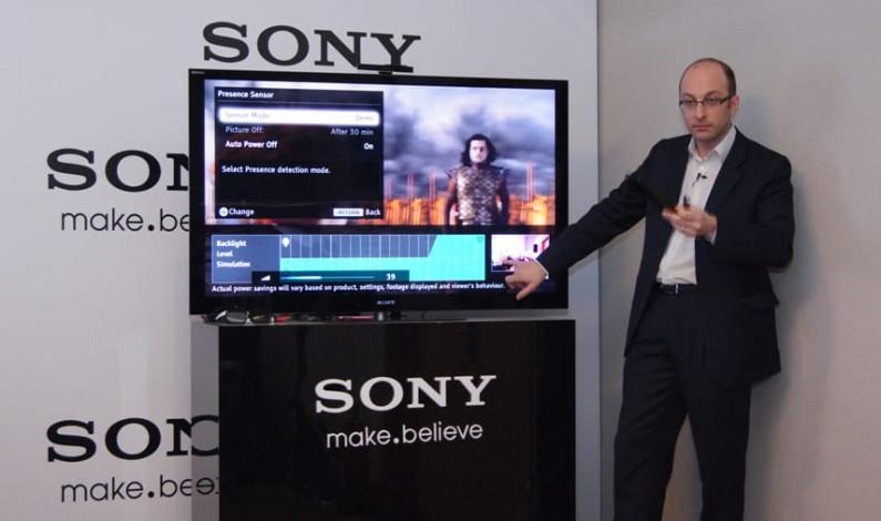 Sony ile 40 inçin üstünde internet keyfi