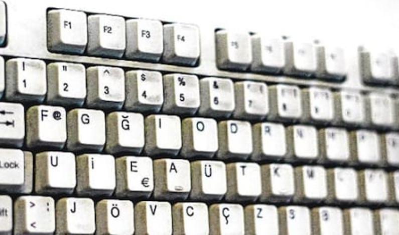 F Klavyeyi Fatih'e sokma, devlet dairelerine sokmaya çalış