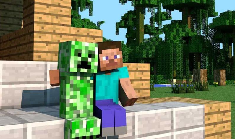 Çocuklar ülkeyi Minecraft ile kurtarıyor