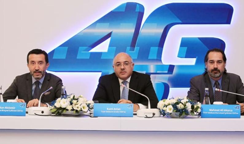 Türk Telekom 4G'de fiberine güveniyor