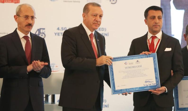Cumhurbaşkanı şirketlere 4G yetkisi dağıttı
