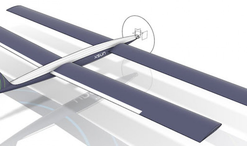 """Güneş enerjisiyle çalışan """"hiç konmayan"""" drone"""
