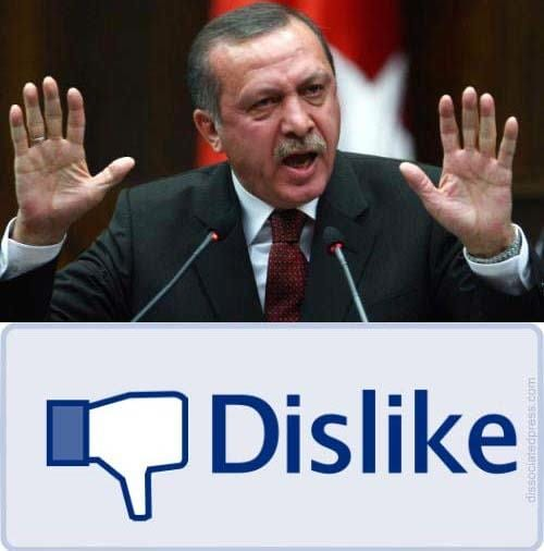 erdogan dislike
