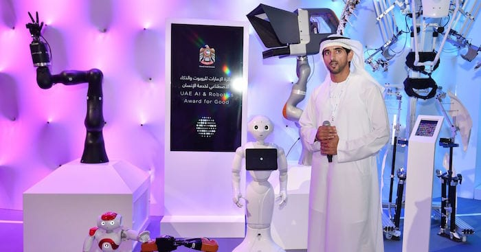 UAE Launches 'AI and Robotics Award for Good' Competition to Transform Use of Robotics and Artificial Intelligence
