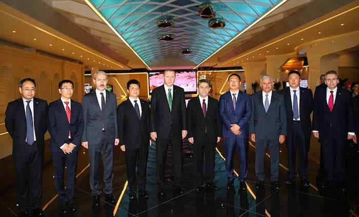 Cumhurbaskani Recep Tayyip Erdogan-Turkcell YK Baskani Ahmet Akca-2